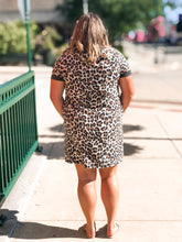 Load image into Gallery viewer, THE BECKY LEOPARD SHIRT DRESS
