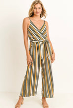 Load image into Gallery viewer, VERTICAL STRIPED JUMPSUIT