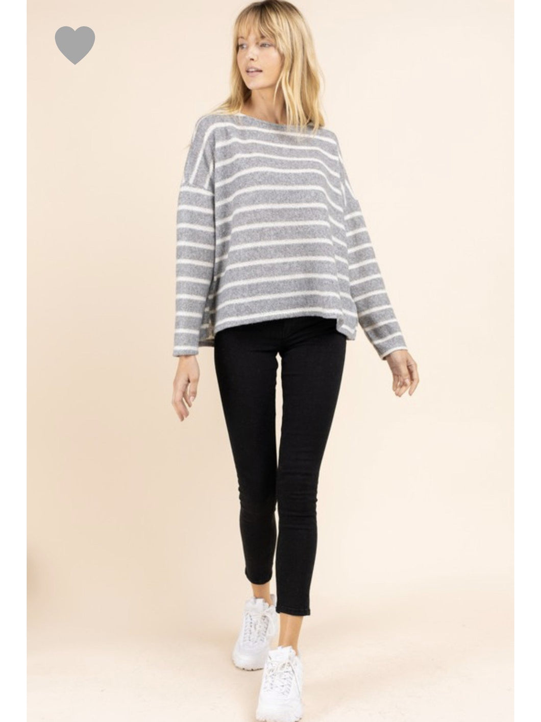 THE HAYLEY STRIPED SWEATER