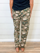 Load image into Gallery viewer, THE SAMANTHA CAMO JOGGERS