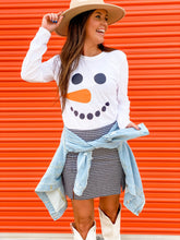 Load image into Gallery viewer, SNOWMAN L/S GRAPHIC TEE