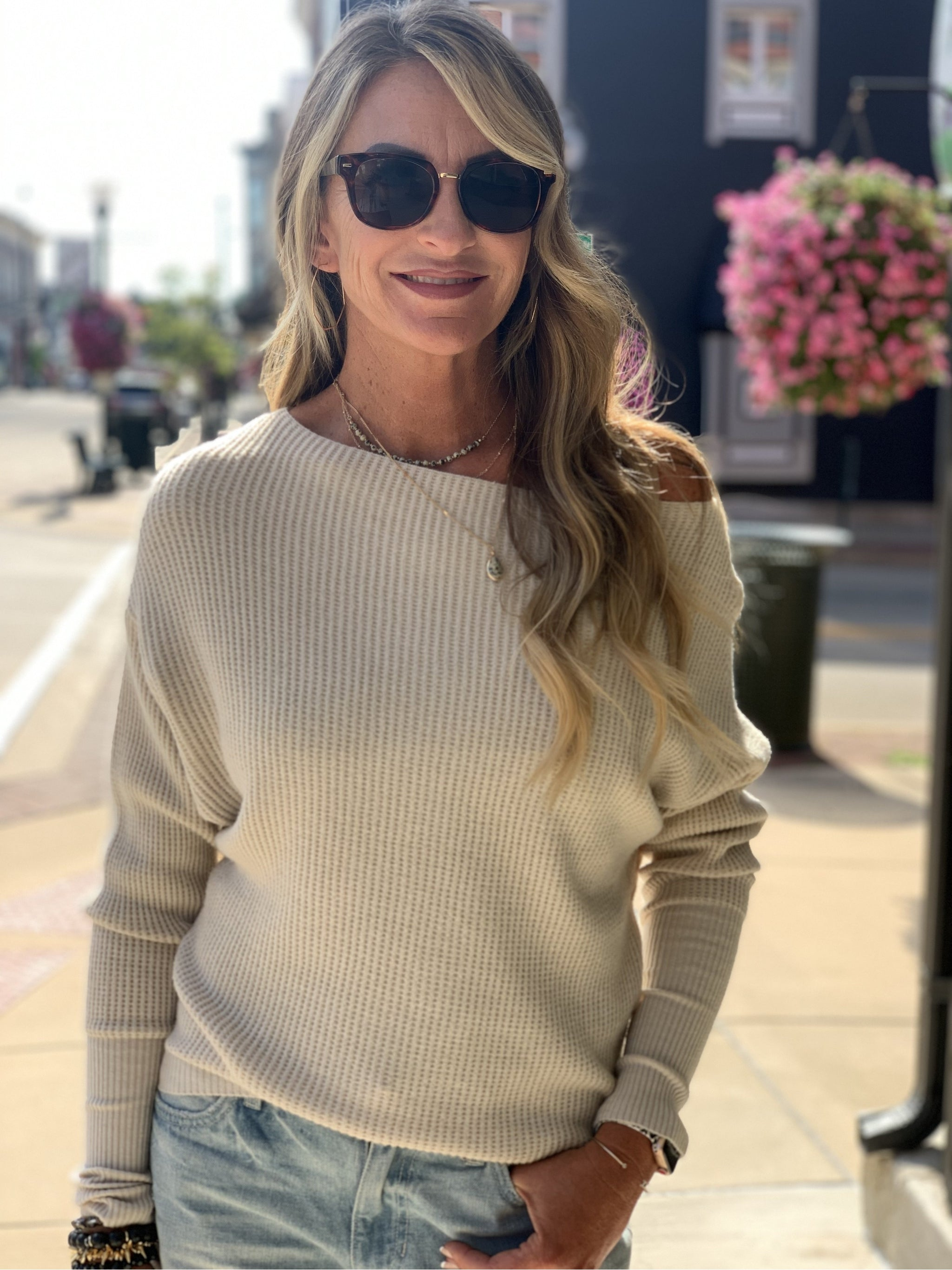 THE ERIKA DOLMAN SWEATER - 2 colors
