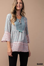 Load image into Gallery viewer, THE MISTY BOHO TOP