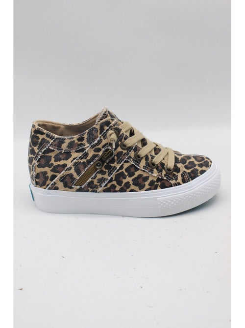 THE BLOWFISH MELONDROP WEDGE SNEAKERS - LEOPARD