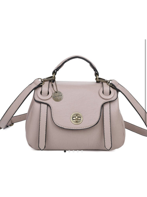 THE LINDA SATCHEL - blush