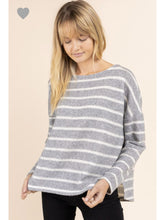 Load image into Gallery viewer, THE HAYLEY STRIPED SWEATER