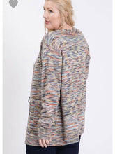 Load image into Gallery viewer, THE JUNE MULTICOLORED OPEN CARDI