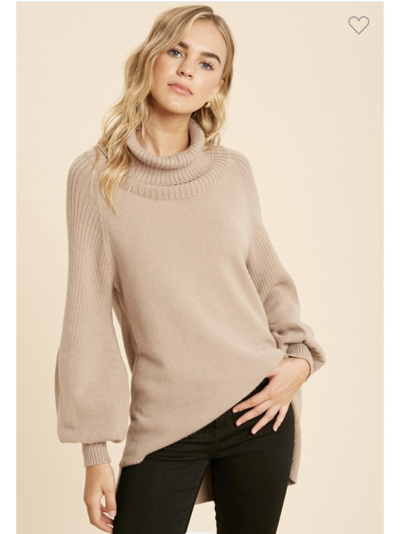 THE TAYLOR TURTLENECK SWEATER