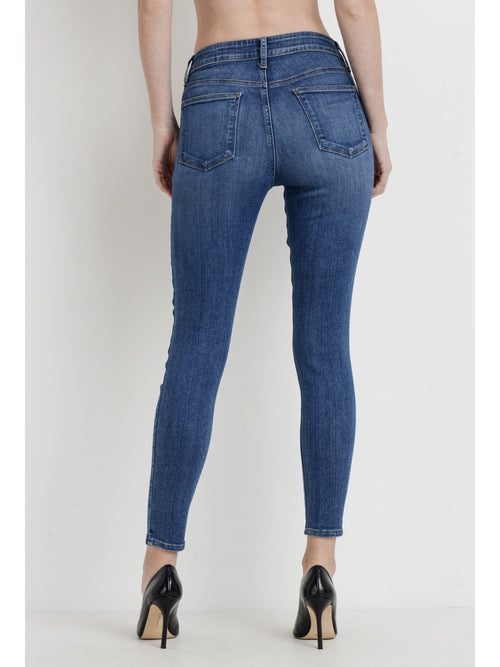 THE ANNISTON BASIC SKINNY DENIM