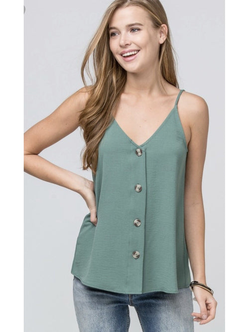 THE ZOEY BUTTON UP CAMI