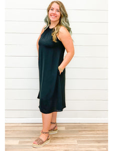 THE RIZA HALTER DRESS - 3 colors