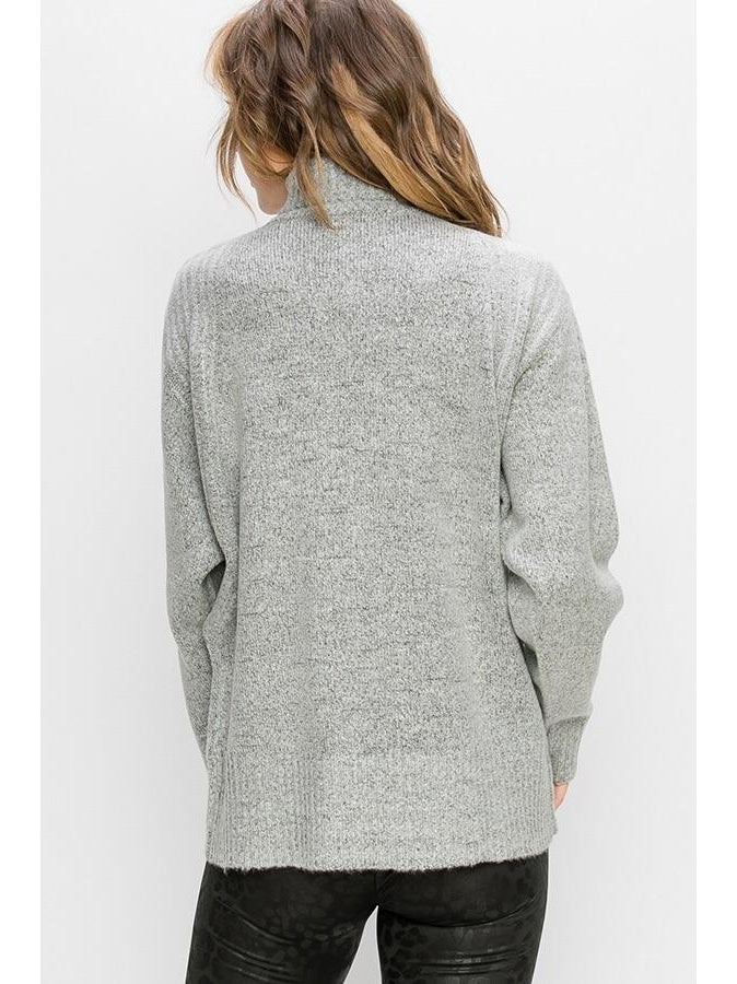 THE BECKY DOLMAN SWEATER - 2 colors
