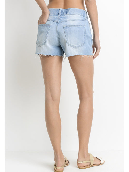 THE JESSICA LIGHT DENIM SHORTS