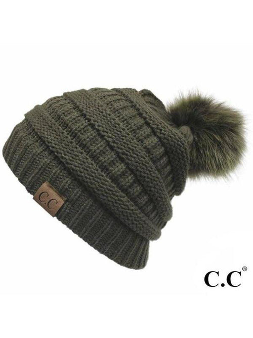 CC SOLID RIBBED HATS