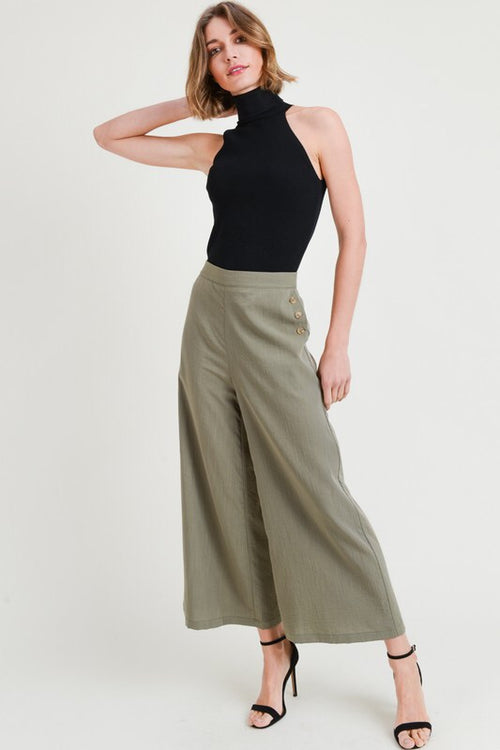 THE JULES CROPPED CULOTTES