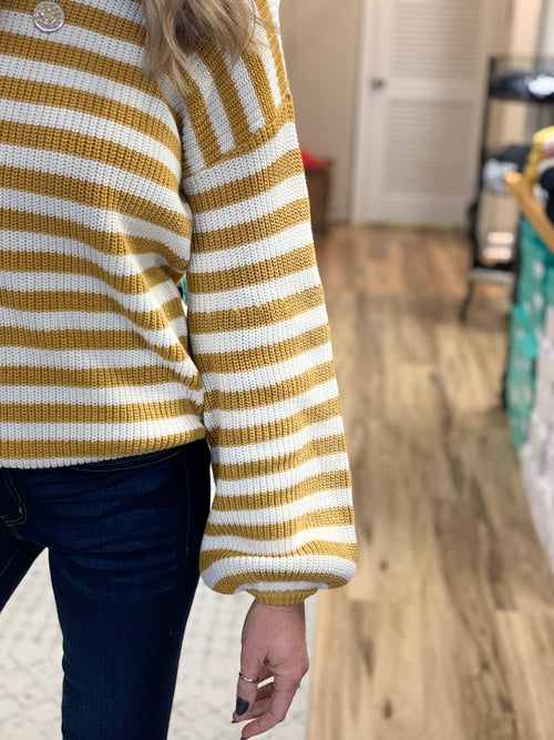 THE PARKER STRIPED SWEATER