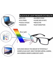 BLUE LIGHT BLOCKING READING GLASSES