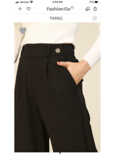 Load image into Gallery viewer, THE PENNY FRONT DOUBLE BUTTON CULOTTES