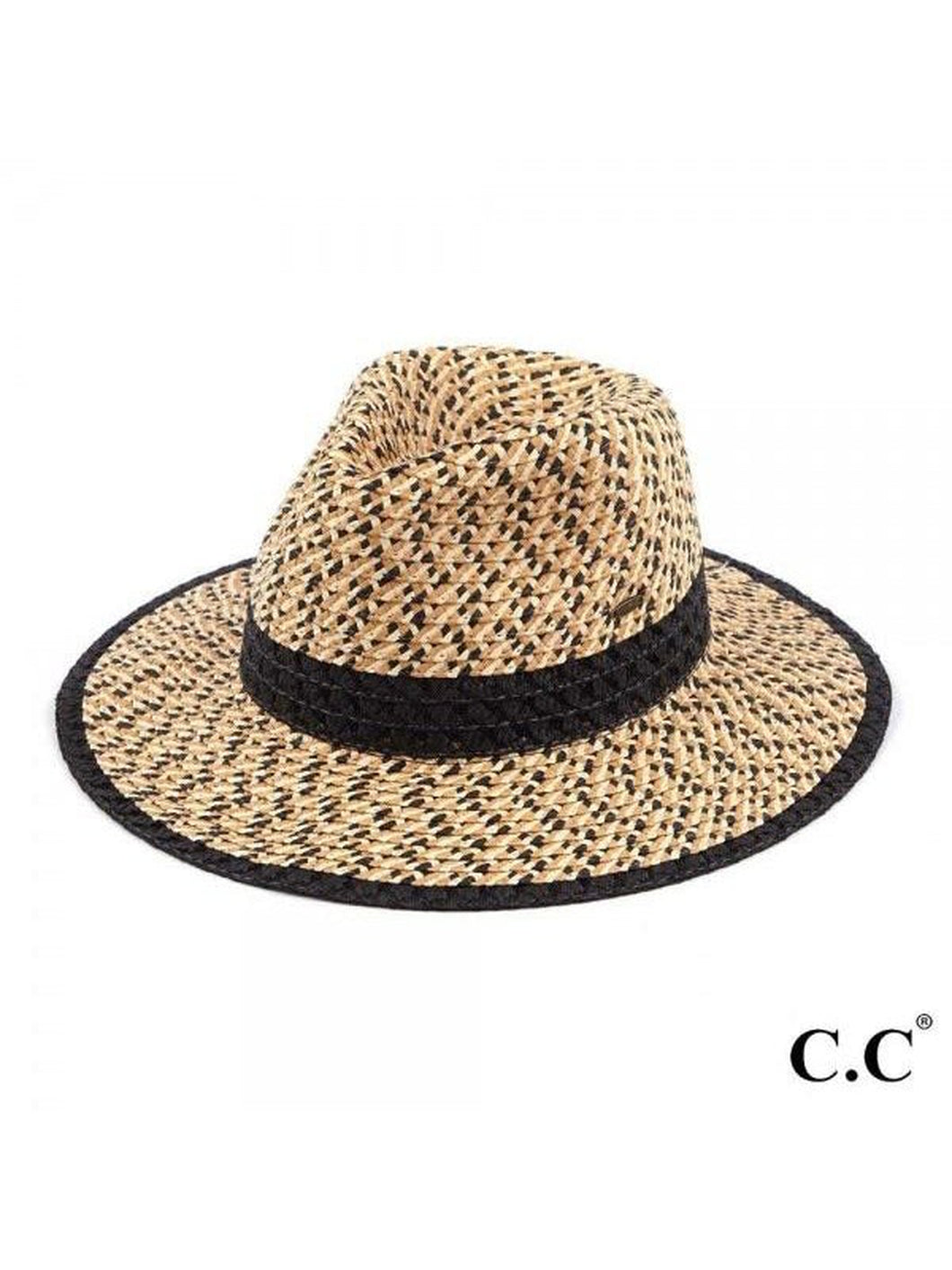 CC TRIPLE HEATHER PANAMA HAT