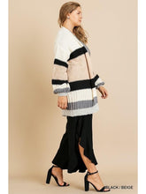 Load image into Gallery viewer, THE BRIT COLORBLOCK CARDI