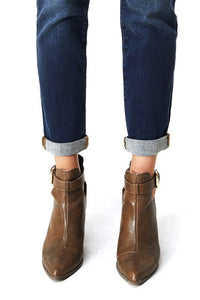 THE VAL BOYFRIEND CUT DARK DENIM