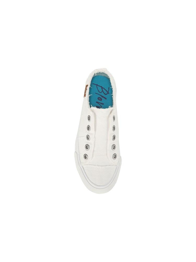 THE BLOWFISH PLAY SNEAKERS - WHITE COLOR