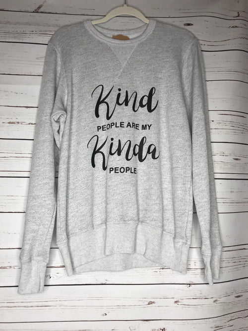 Kind people crewneck sweatshirt