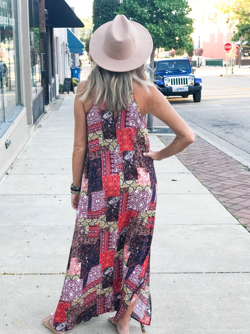 THE JANIS CROCHET LACE MAXI