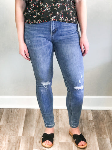 THE SYDNEY HI RISE DISTRESSED DENIM