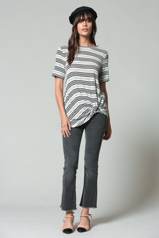 THE MADDIE STRIPED TOP