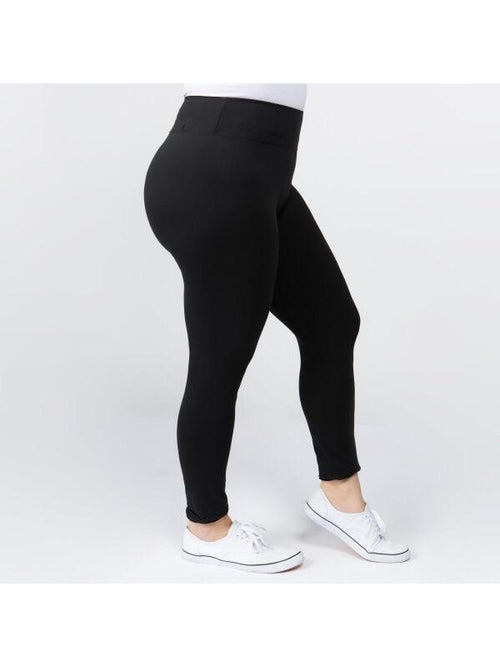"THE ANDREA LEGGINGS - 3"" waistband EXTENDED SIZE"
