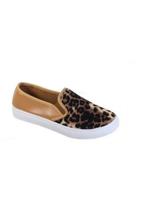 THE LEOPARD COLOR BLOCK LOAFER