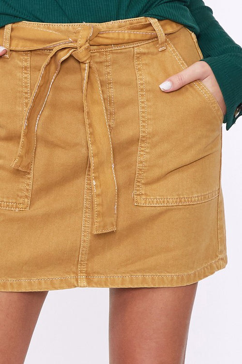 THE TABATHA COTTON SKIRT