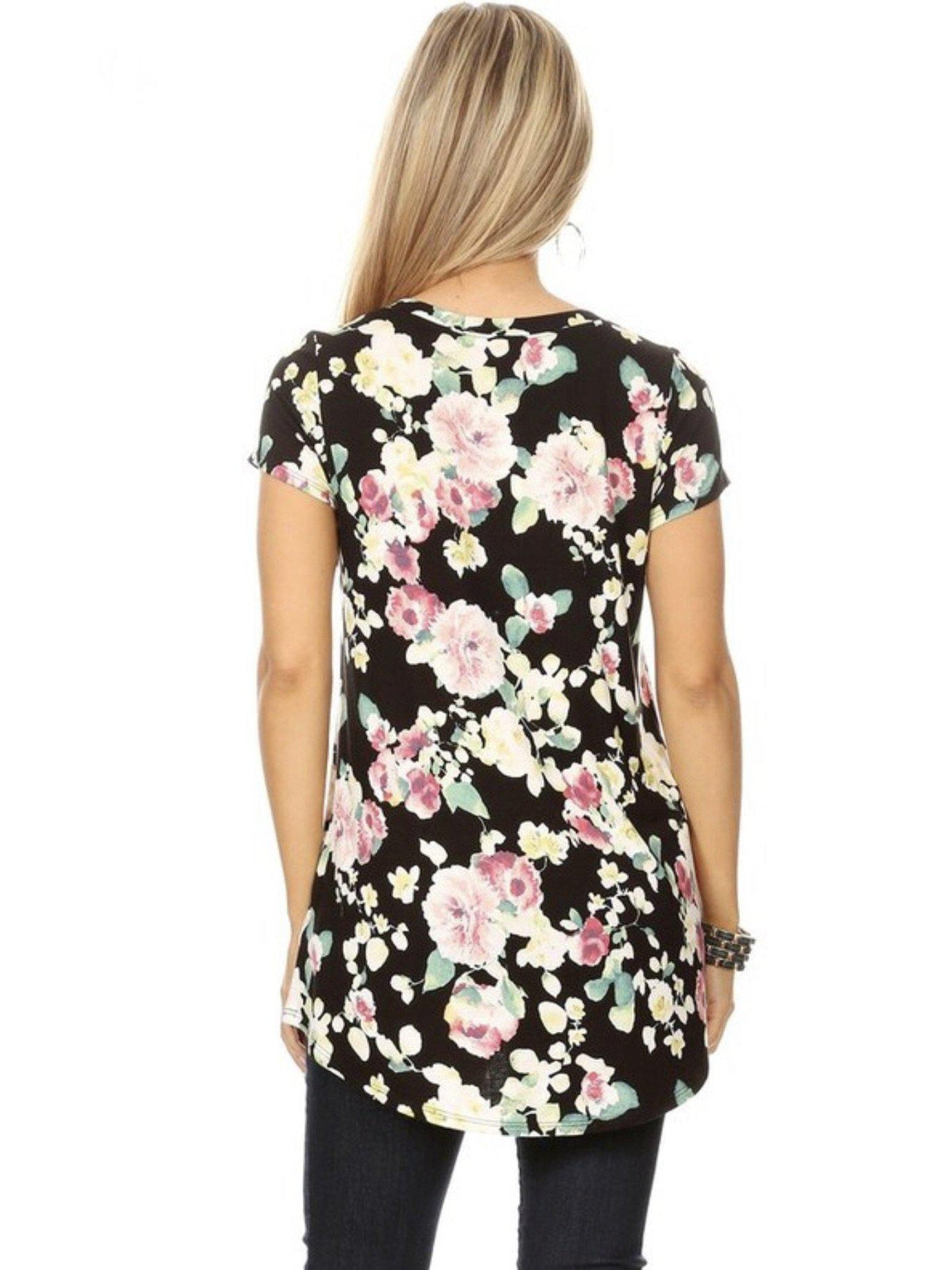 THE SARA FLORAL TUNIC