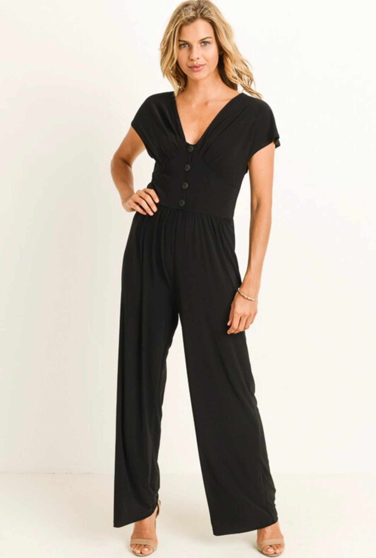 PERFECT BLACK JUMPSUIT