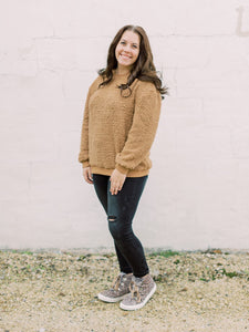 THE MICHELLE COZY SHERPA SWEATSHIRT