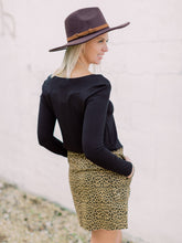 Load image into Gallery viewer, THE ALLIE CARGO LEOPARD SKIRT