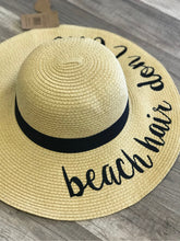 Load image into Gallery viewer, CC SUN NATURAL PAPER STRAW WIDE BRIM HATS
