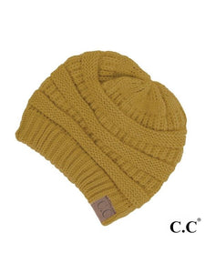 CC SOLID RIBBED ORIGINAL BEANIE HATS