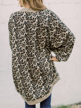 Load image into Gallery viewer, THE MAGGIE LEOPARD COCOON KIMONO