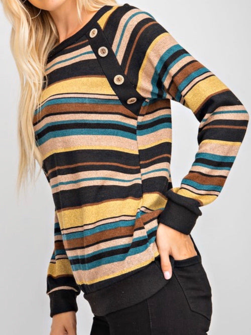 THE JAN STRIPED TOP