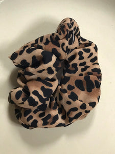 LEOPARD HAIR SCRUNCHIES