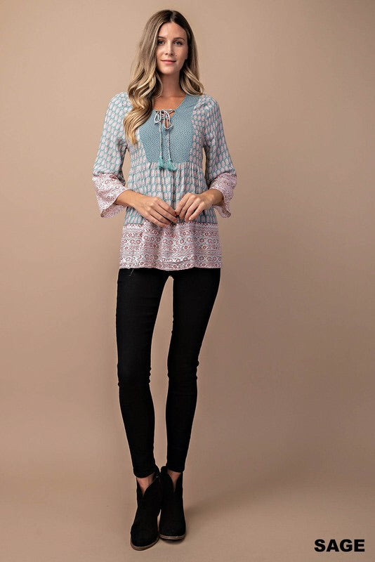 THE MISTY BOHO TOP