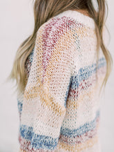 Load image into Gallery viewer, THE KORI MULTI COLOR KNIT SWEATER