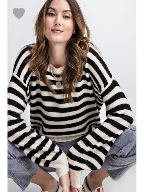 THE TABATHA STRIPED SWEATER