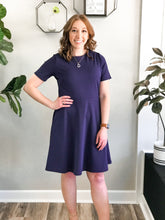 Load image into Gallery viewer, THE KAILE FIT & FLARE SKATER DRESS - 2 colors