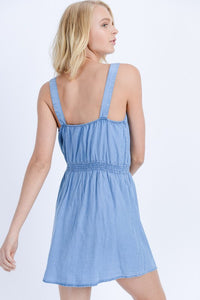 THE MANDY DENIM DRESS