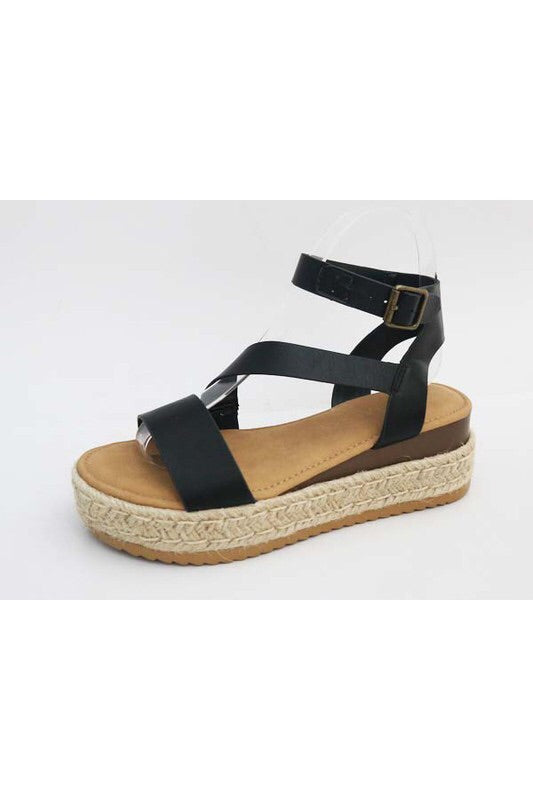 THE KAILEE ANKLE STRAP ESPADRILLE