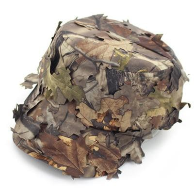 3D CamoCap Scout- Brown Foliage