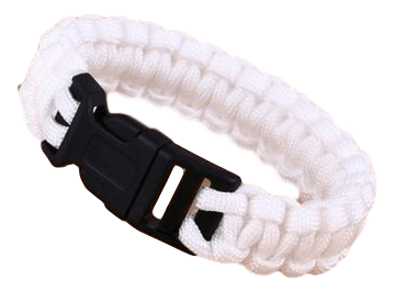 ParaStrength Bracelet- White Out